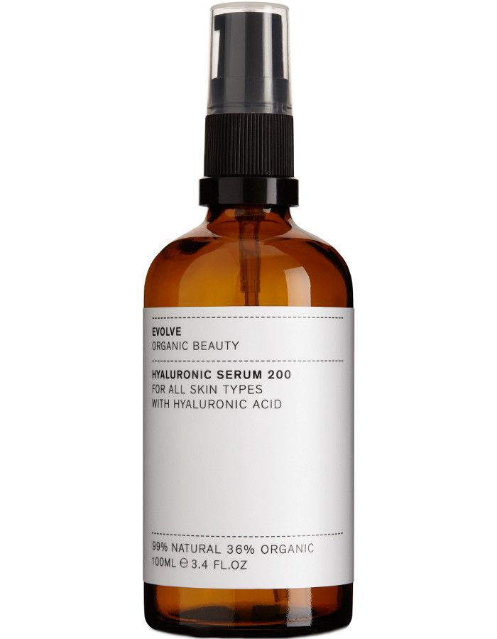 Evolve Organic Beauty Hyaluronic Serum 200 100ml