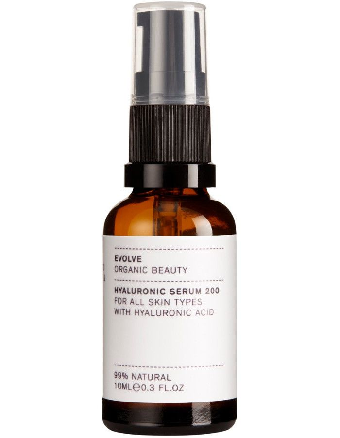 Evolve Organic Beauty Hyaluronic Serum 200 Travel Size 10ml