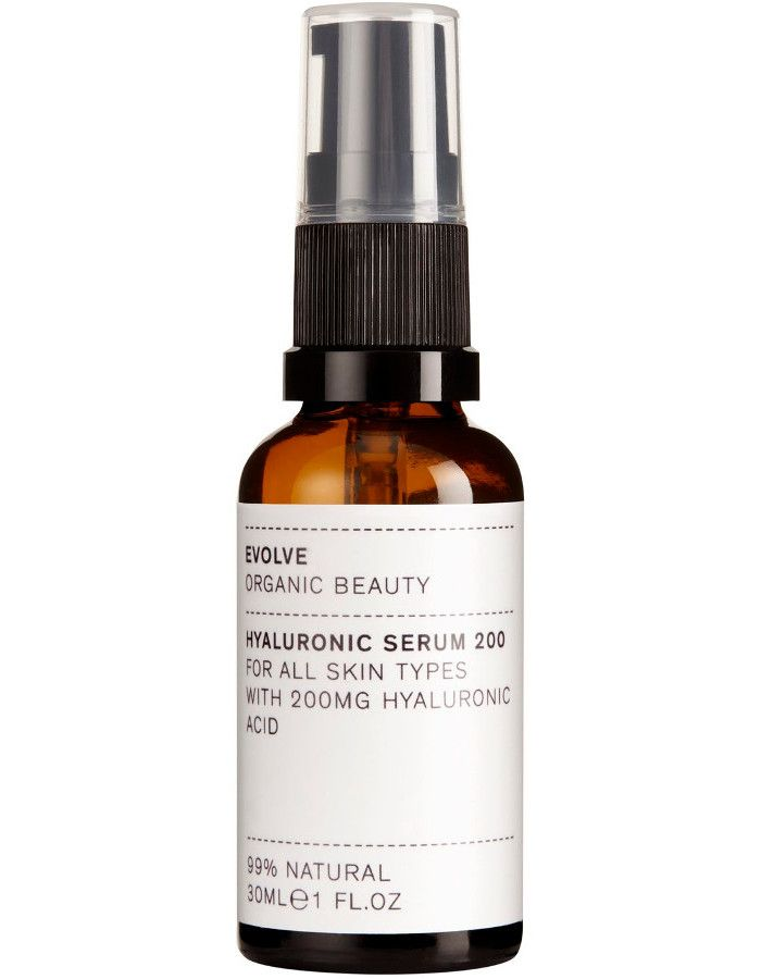 Evolve Organic Beauty Hyaluronic Serum 200 30ml