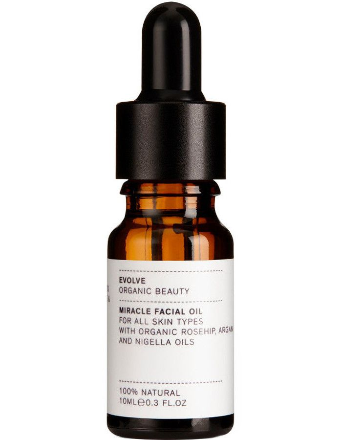 Evolve Organic Beauty Miracle Facial Oil Travel Size 10ml