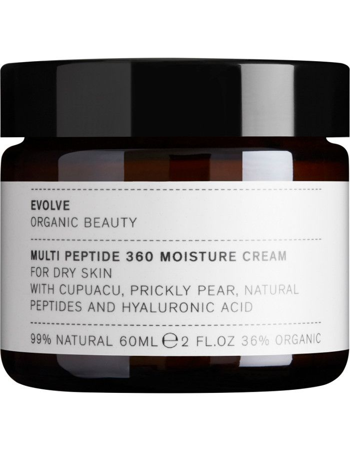 Evolve Organic Beauty Multi Peptide 360 Moisture Cream 60ml