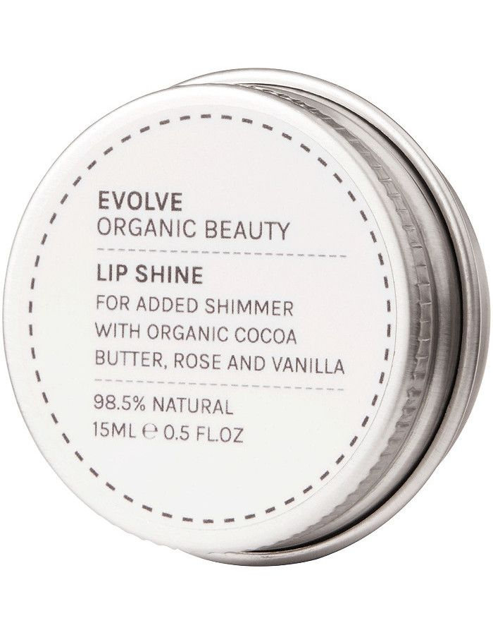Evolve Organic Beauty New Lip Shine True Gold 10ml
