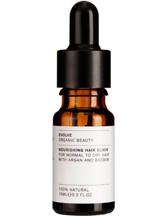 Evolve Organic Beauty Nourishing Hair Elixir Travel Size 10ml
