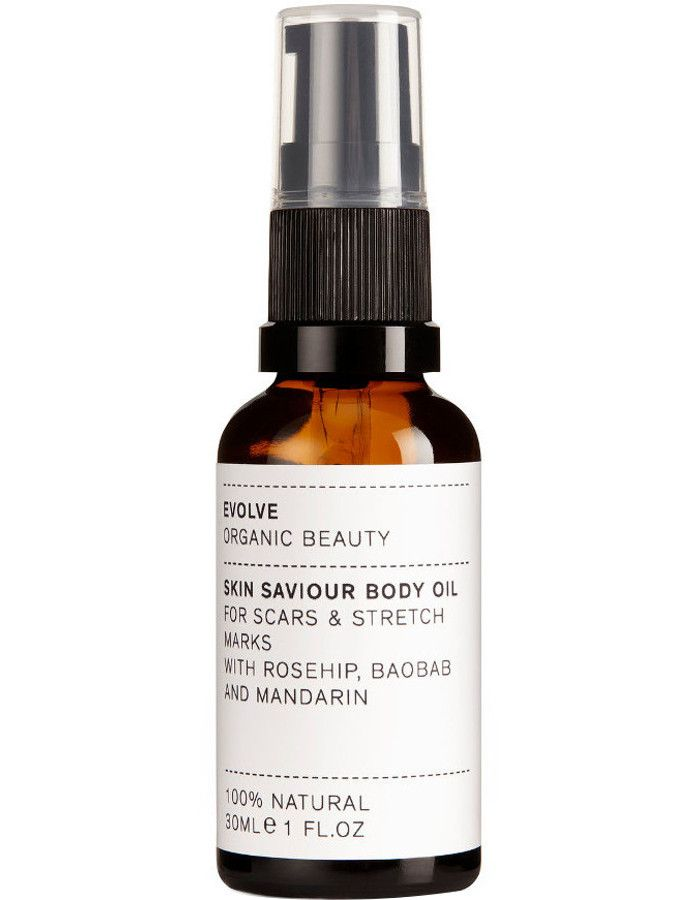 Evolve Organic Beauty Skin Saviour Body Oil Travel Size 30ml
