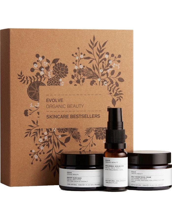 Evolve Organic Beauty Skincare Bestsellers Set 3-Delig