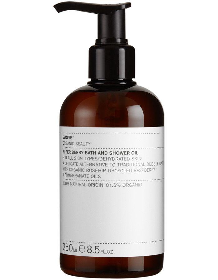 Evolve Organic Beauty Super Berry Bath & Shower Oil 250ml