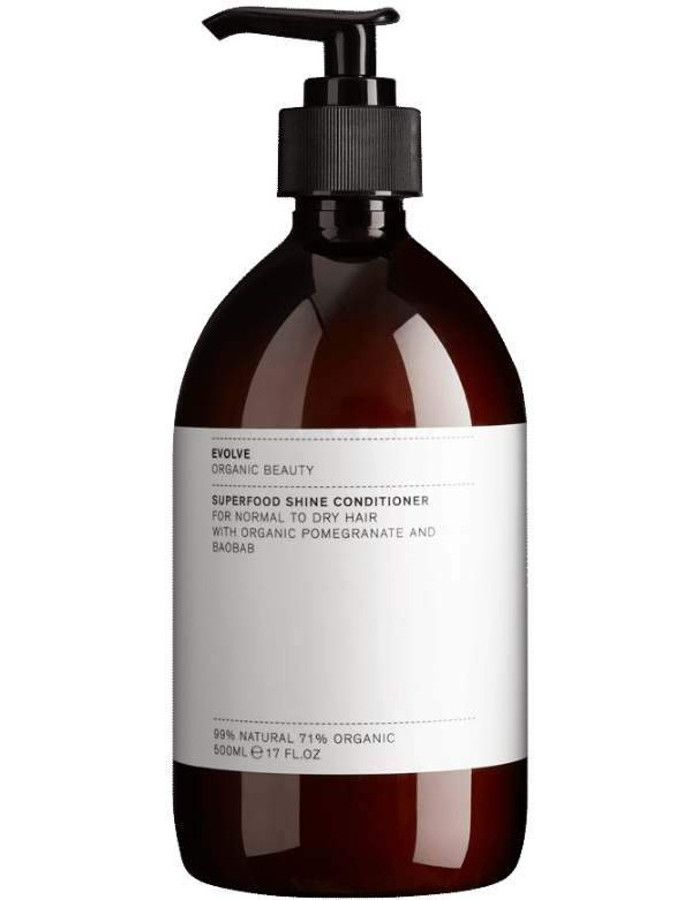 Evolve Organic Beauty Superfood Shine Conditioner 500ml