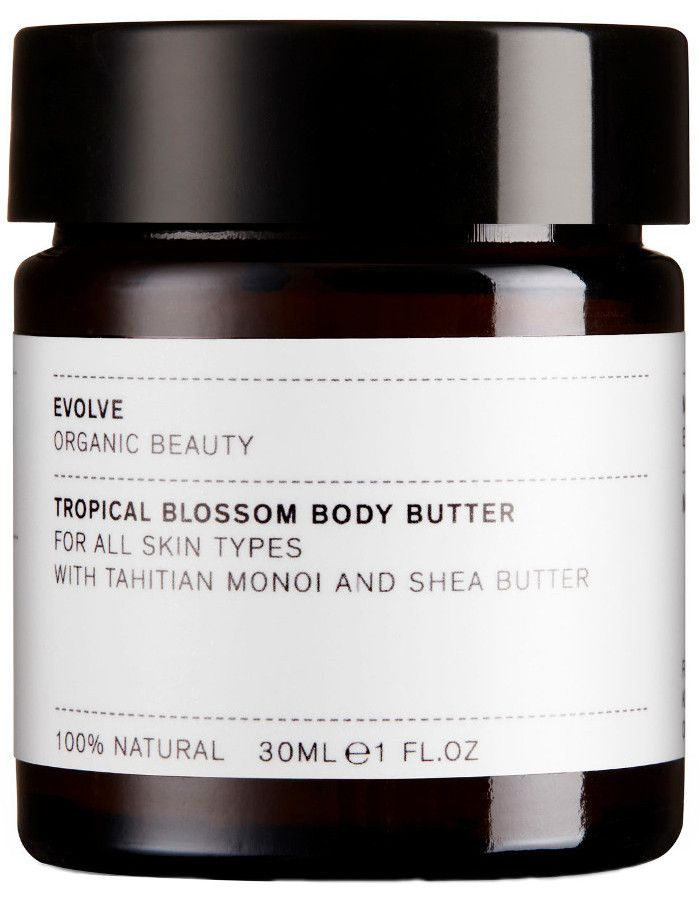 Evolve Organic Beauty Tropical Blossom Body Butter Travel Size 30ml