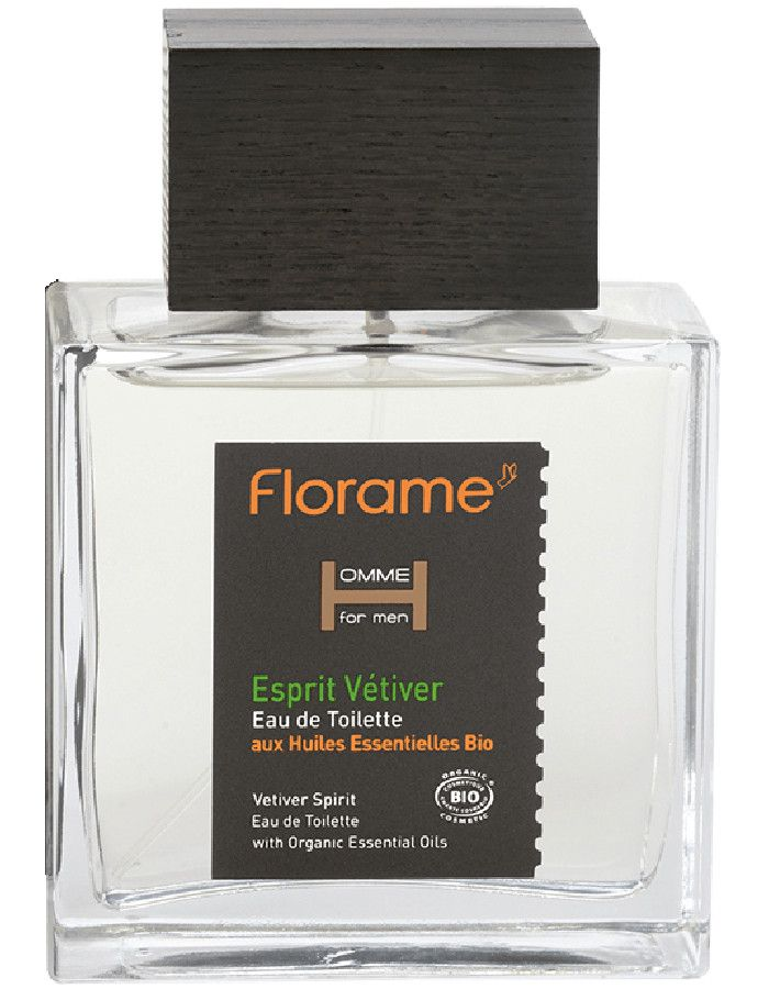 Florame Man Vetiver Spirit Eau De Toilette Spray 100ml