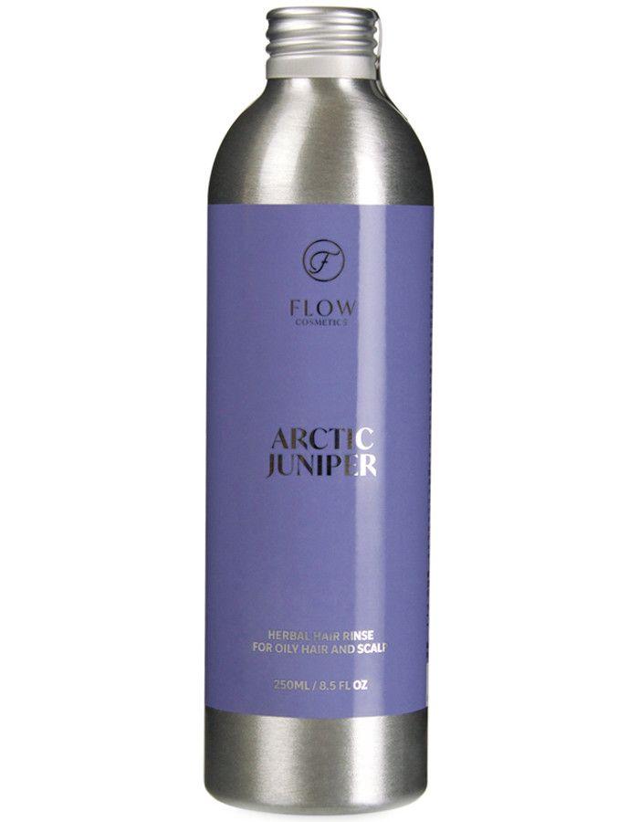 Flow Cosmetics Arctic Juniper Haarspoeling Vettig Haar 250ml