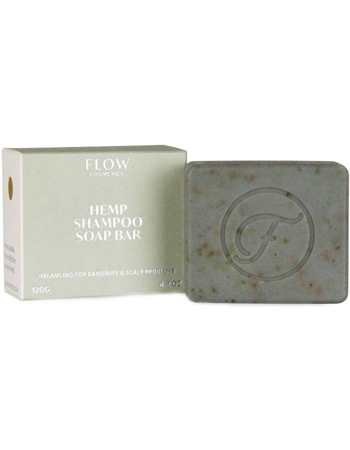 Flow Cosmetics Hemp Shampoo Soap Bar 120gr