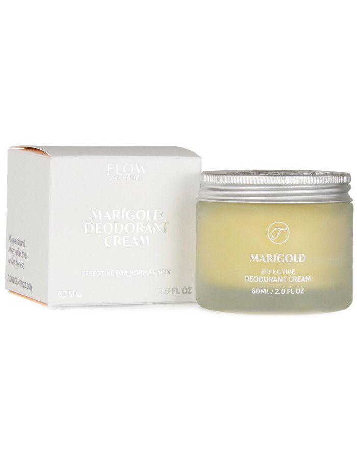 Flow Cosmetics Marigold Effective Deodorant Cream 60ml