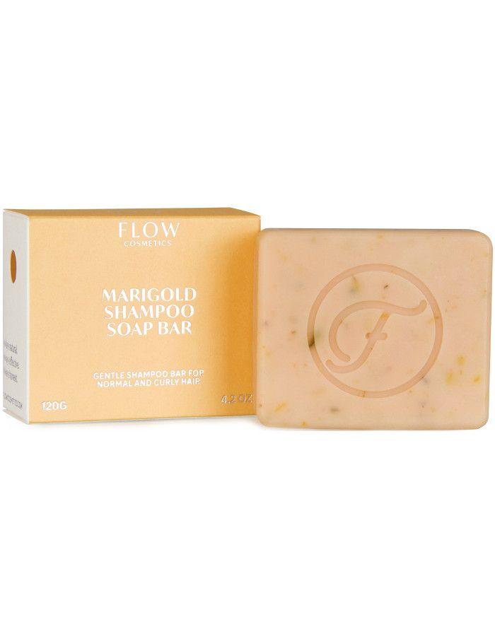 Flow Cosmetics Marigold Shampoo Soap Bar 120gr