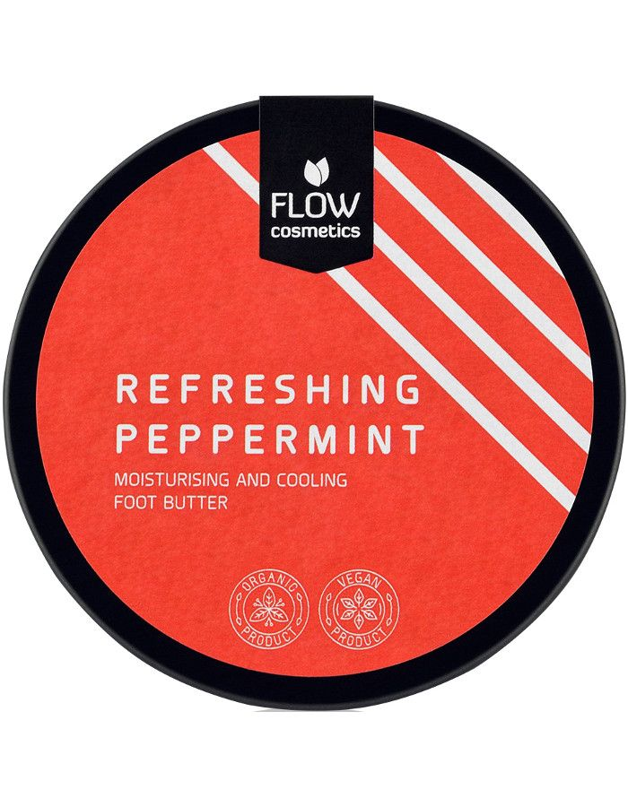 Flow Cosmetics Organic Refreshing Peppermint Foot Butter 150ml