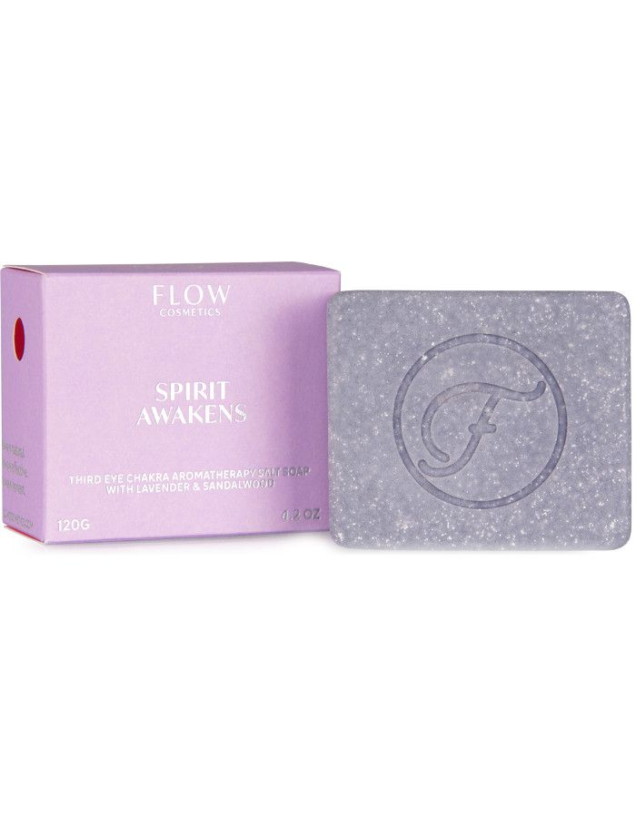 Flow Cosmetics Spirit Awakens Aromatherapy Soap Lavender & Sandalwood 120gr