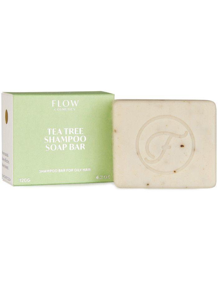 Flow Cosmetics Tea Tree Shampoo Soap Bar 120gr