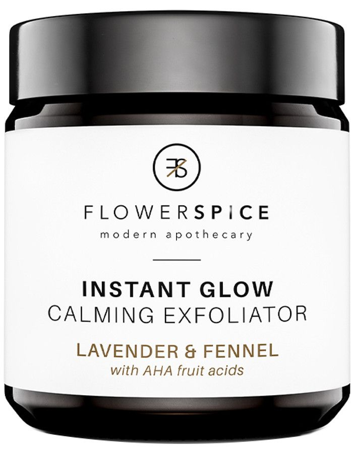 Flower and Spice Instant Glow Calming Exfoliator Lavender & Fennel 120ml