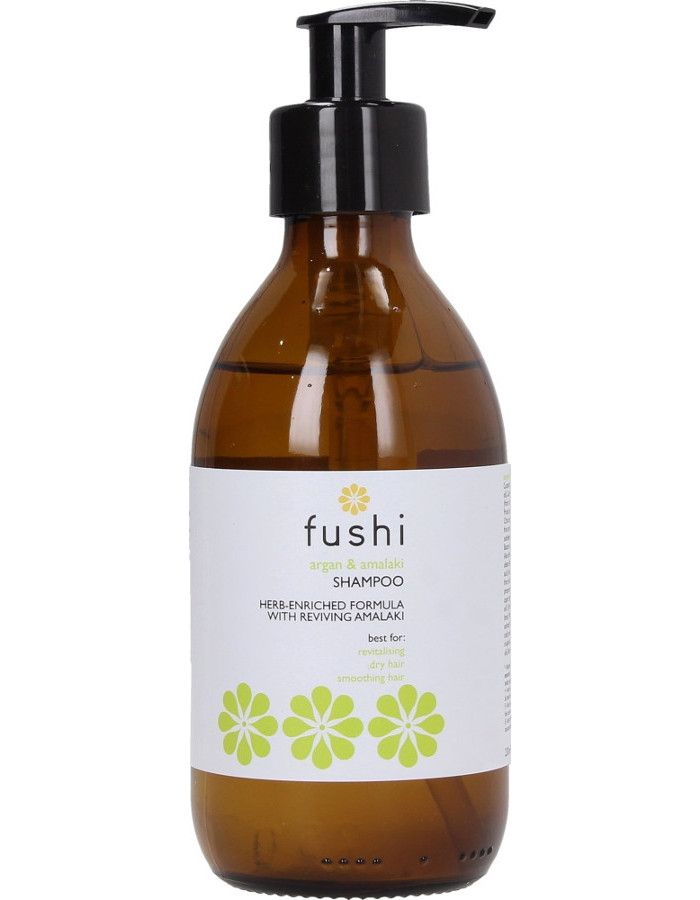 Fushi Argan & Amalaki Herbal Shampoo 230ml