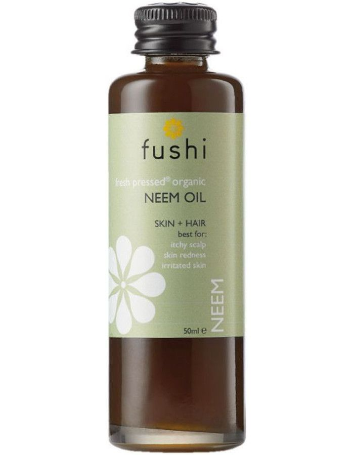 Fushi Organic Cold-Pressed Neem Oil 50ml