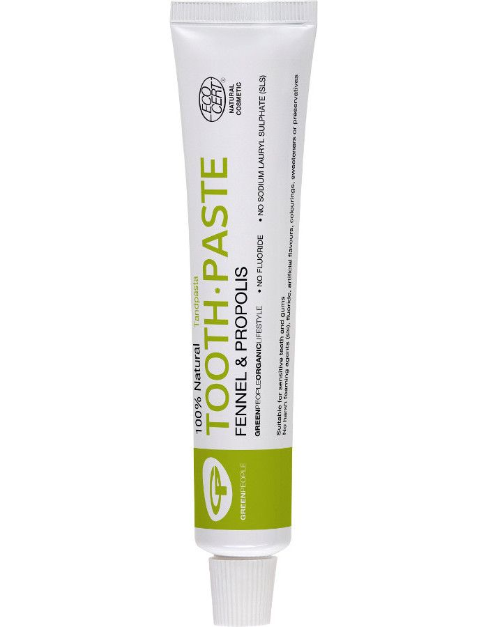 Green People 100% Natural Toothpaste Fennel & Propolis 50ml