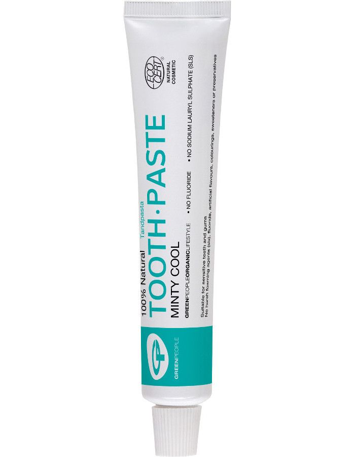 Green People 100% Natural Toothpaste Minty Cool 50ml