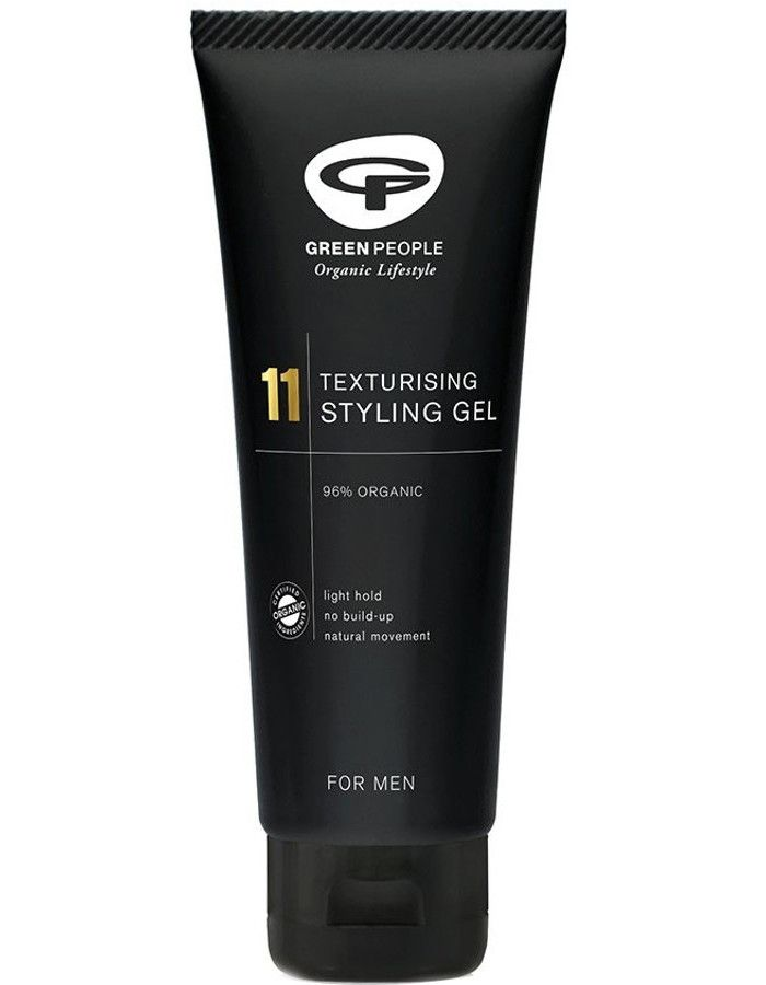 Green People 11 For Men Texturising Styling Gel 100ml