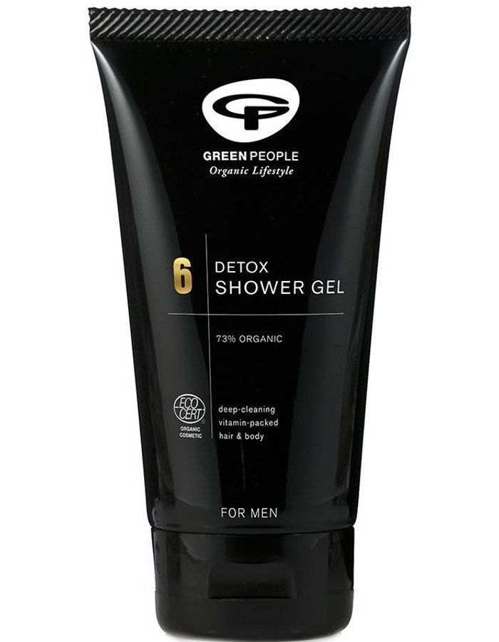 Green People 6 For Men Detox Shower Gel 150ml