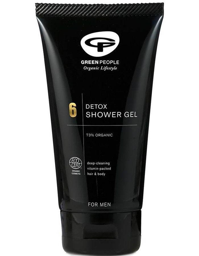 Green People 6 For Men Detox Shower Gel 150ml