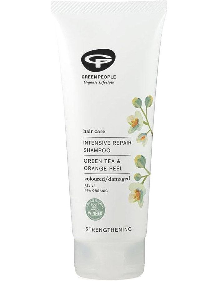 Green People Intensive Repair Shampoo Green Tea & Orange Peel 200ml