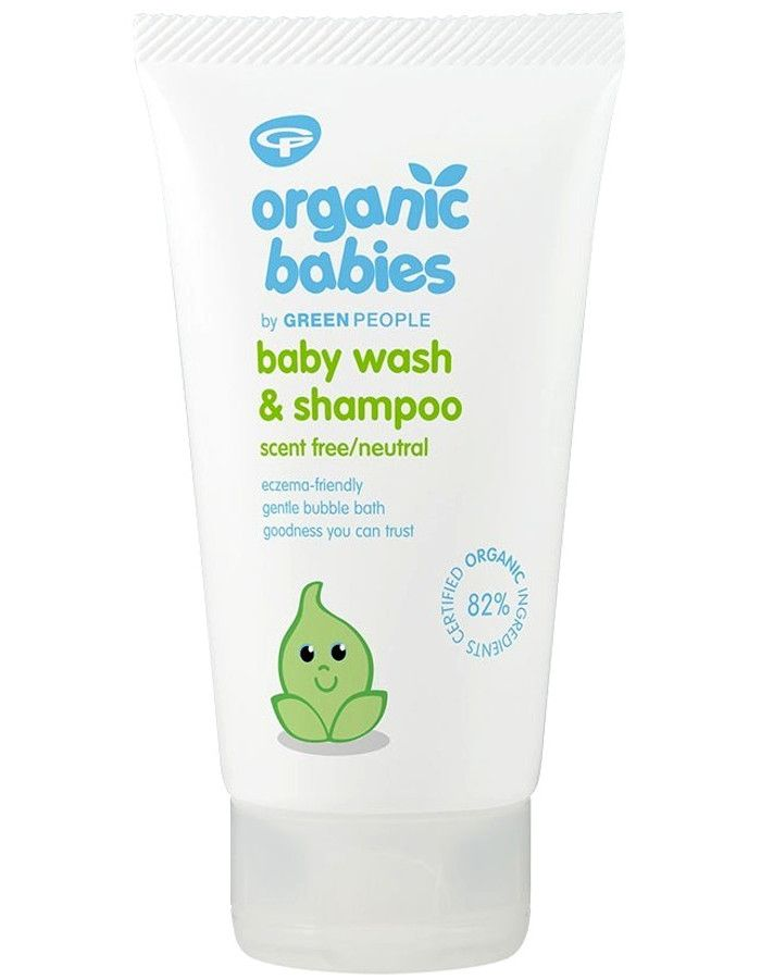 Green People Organic Babies Baby Wash & Shampoo Scent Free 150ml