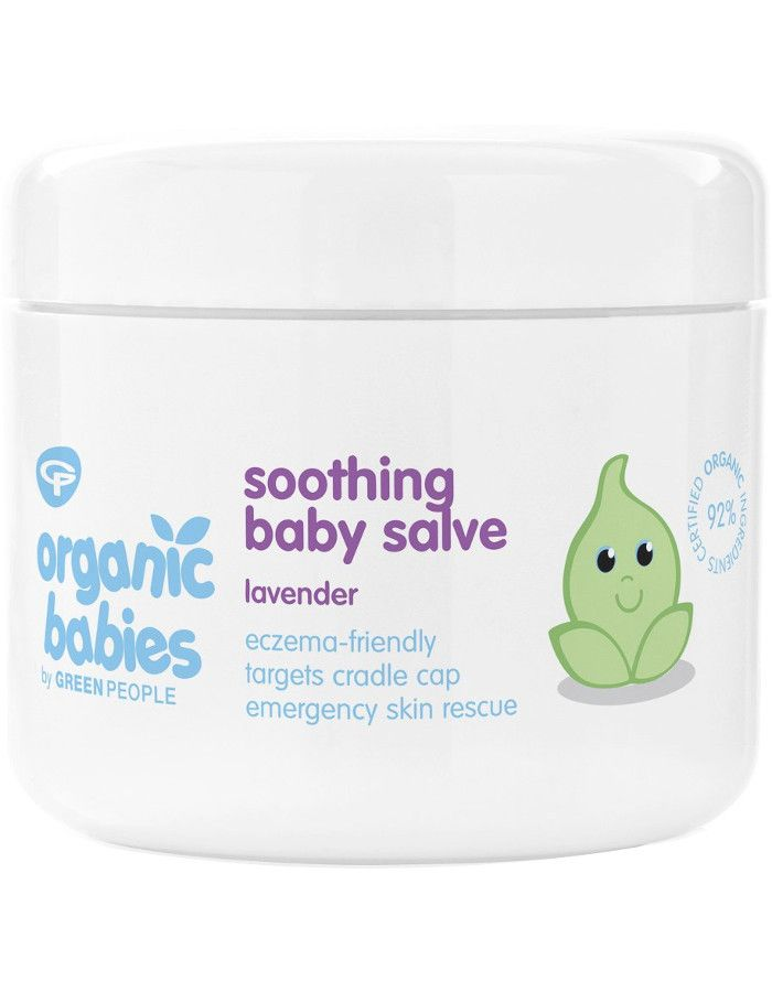 Green People Organic Babies Soothing Baby Salve Lavender 100ml