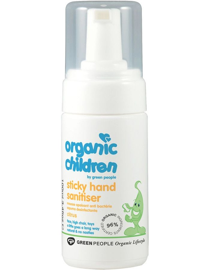 Green People Organic Children Sticky Hand Sanitiser Citrus 100ml