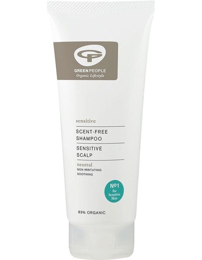 Green People Scent Free Shampoo Sensitive Scalp 200ml