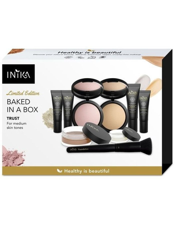Inika Organic Baked In A Box Trust Gift Set 9-Delig