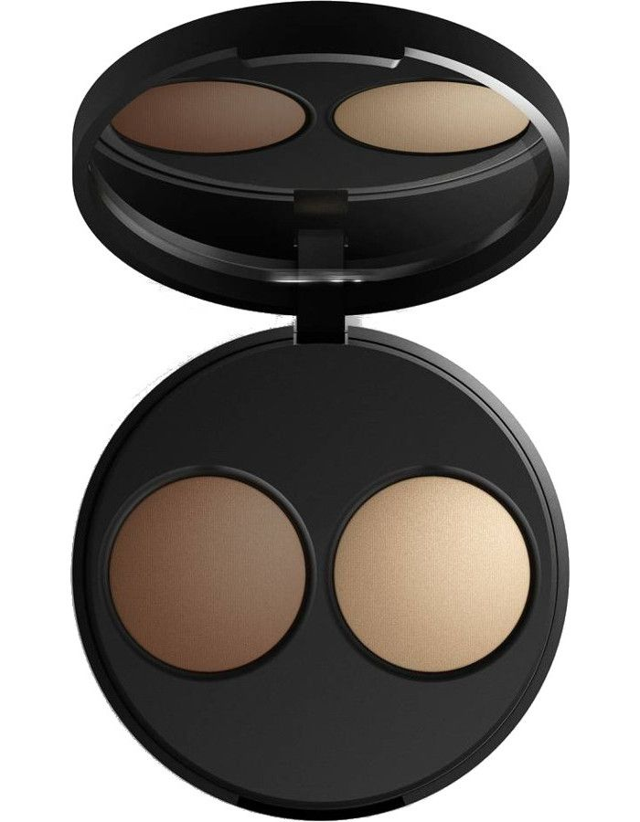 Inika Organic Baked Mineral Contour Duo Almond