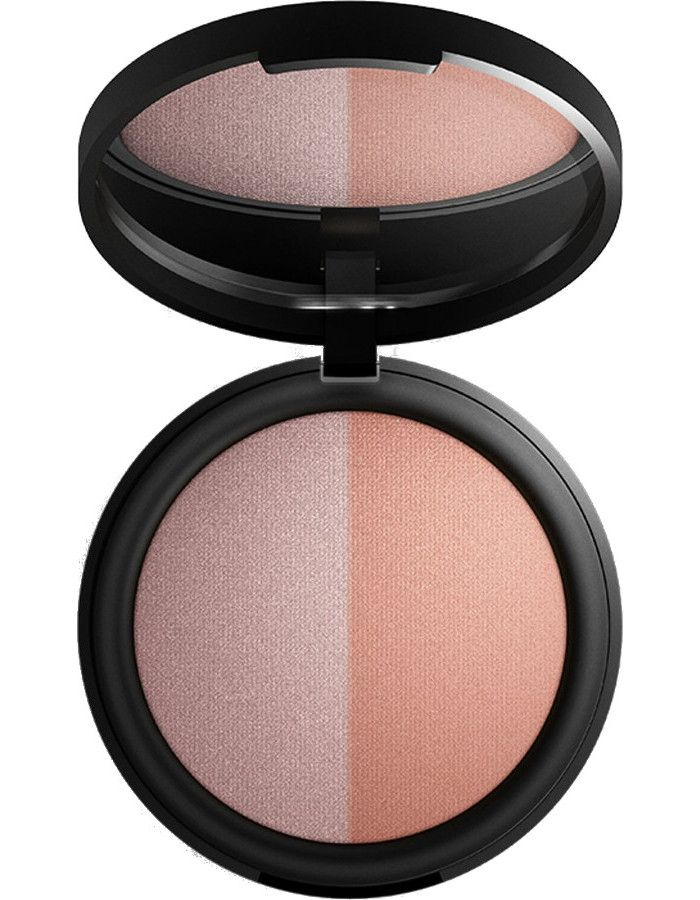 Inika Organic Baked Mineral Blush Pink Tickle Duo