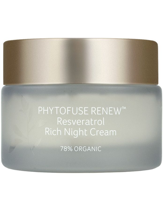 Inika Organic Phytofuse Renew Resveratrol Rich Night Cream 50ml