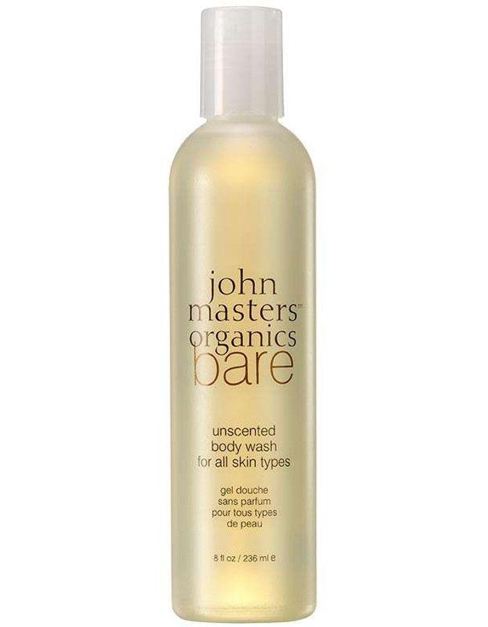 John Masters Organics BARE Unscented Body Wash All Skin Types 236ml