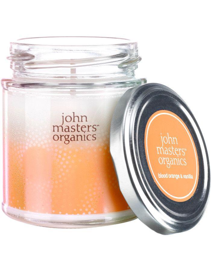John Masters Organics Blood Orange & Vanille Soy Wax Candle 30 Branduren