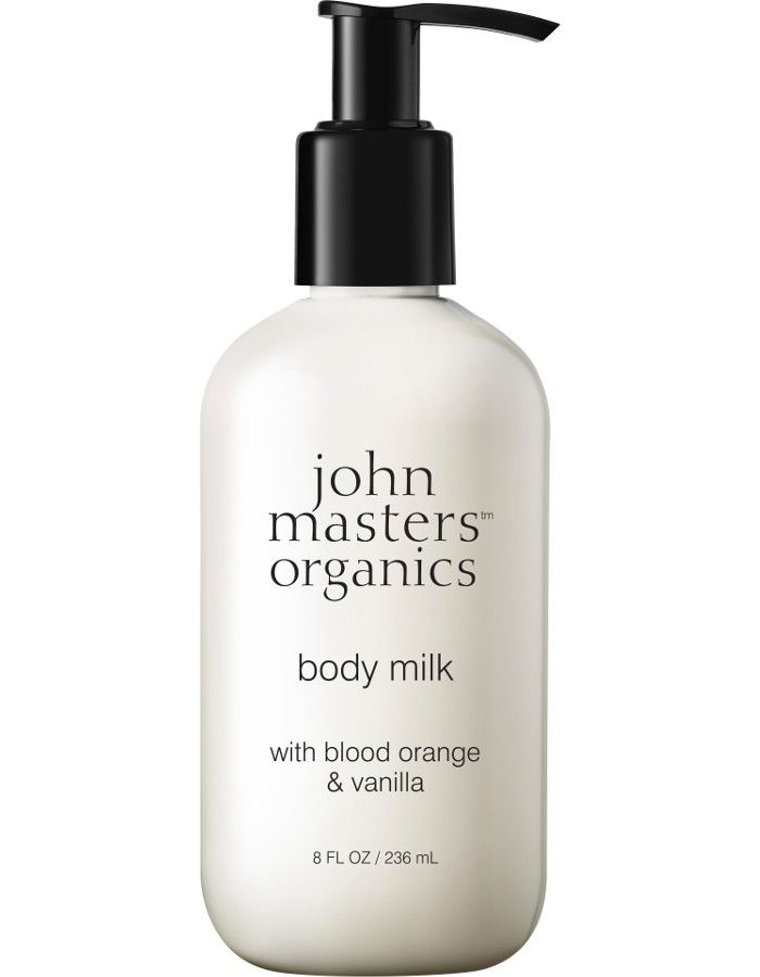 John Masters Organics Body Milk Blood Orange & Vanilla 236ml