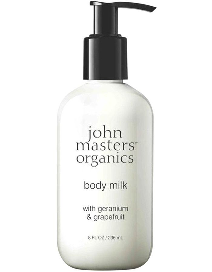 John Masters Organics Body Milk Geranium & Grapefruit 236ml