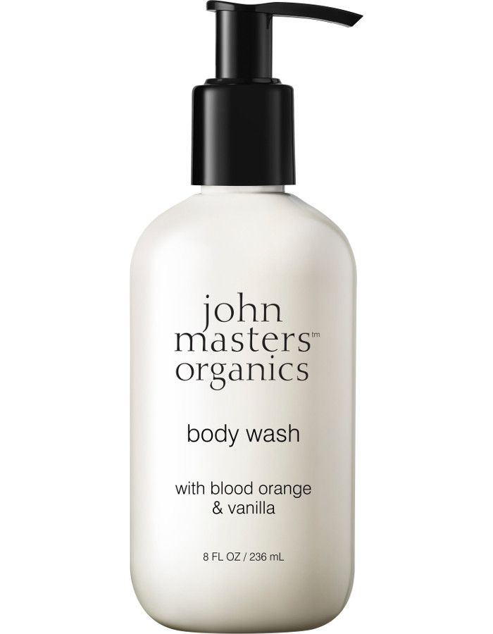 John Masters Organics Body Wash Blood Orange & Vanilla 236ml