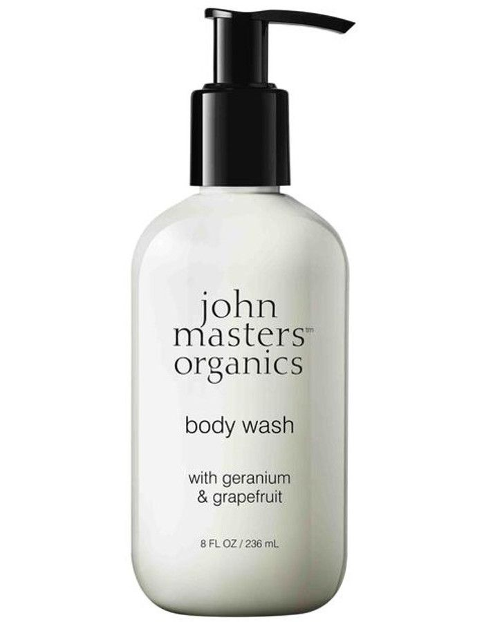 John Masters Organics Body Wash Geranium & Grapefruit 236ml