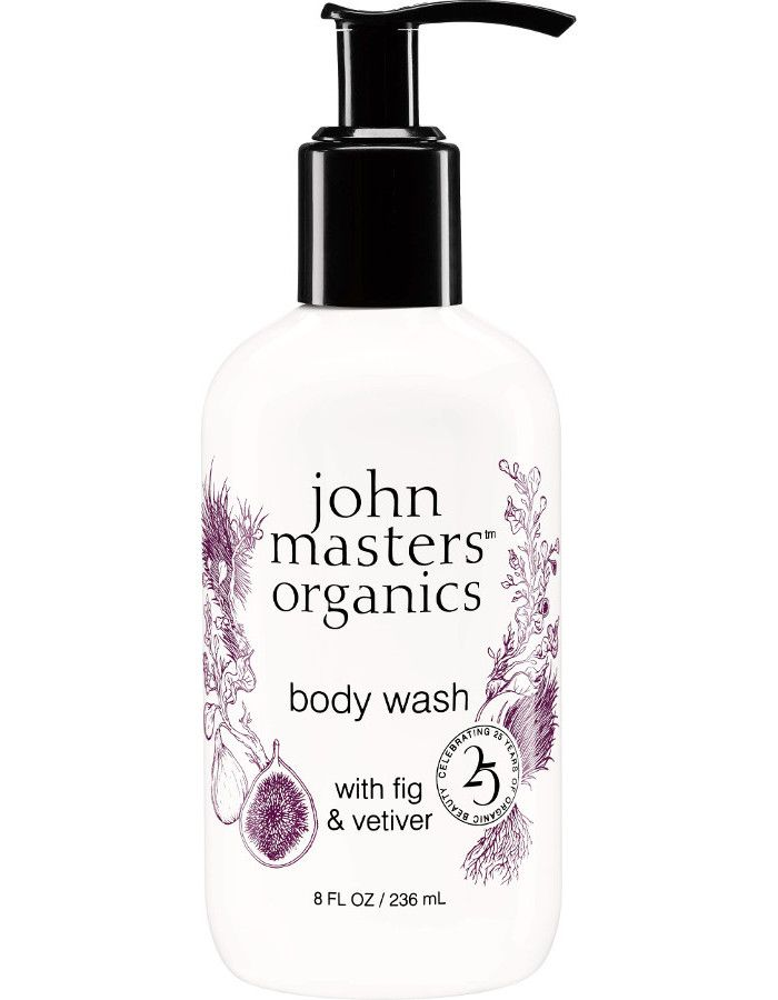 John Masters Organics Body Wash Wild Fig & Vetiver 236ml