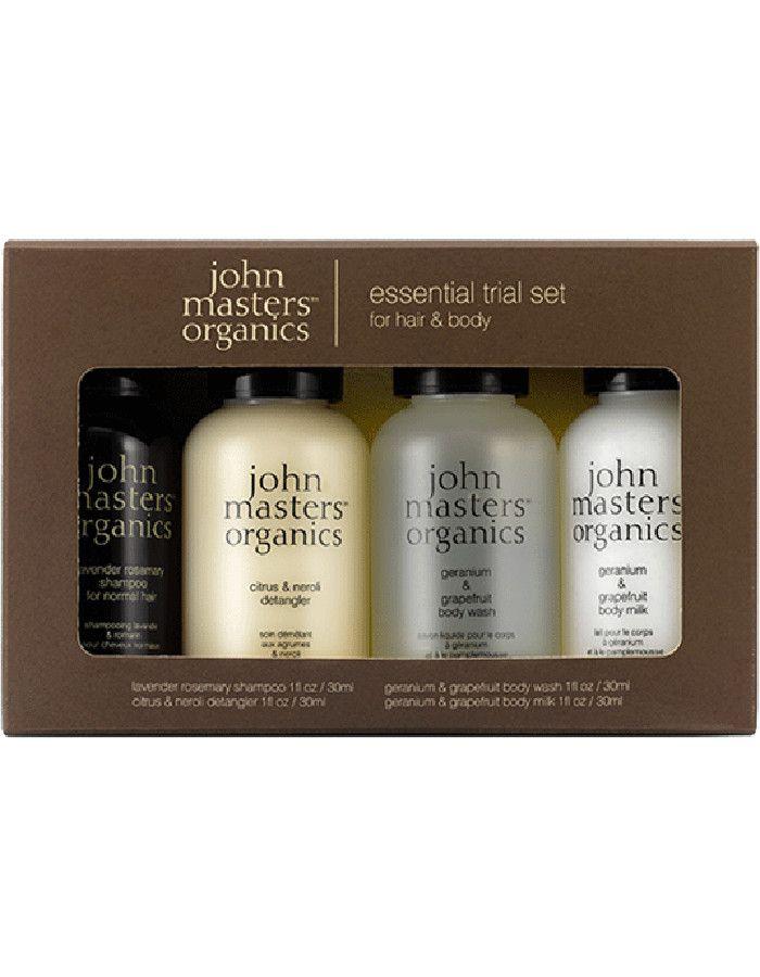 John Masters Organics Essential Trial Set 4-Delig