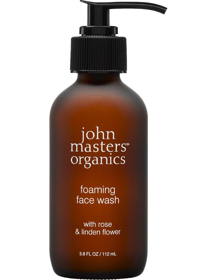 John Masters Organics Foaming Face Wash Rose & Linden Flower 112ml