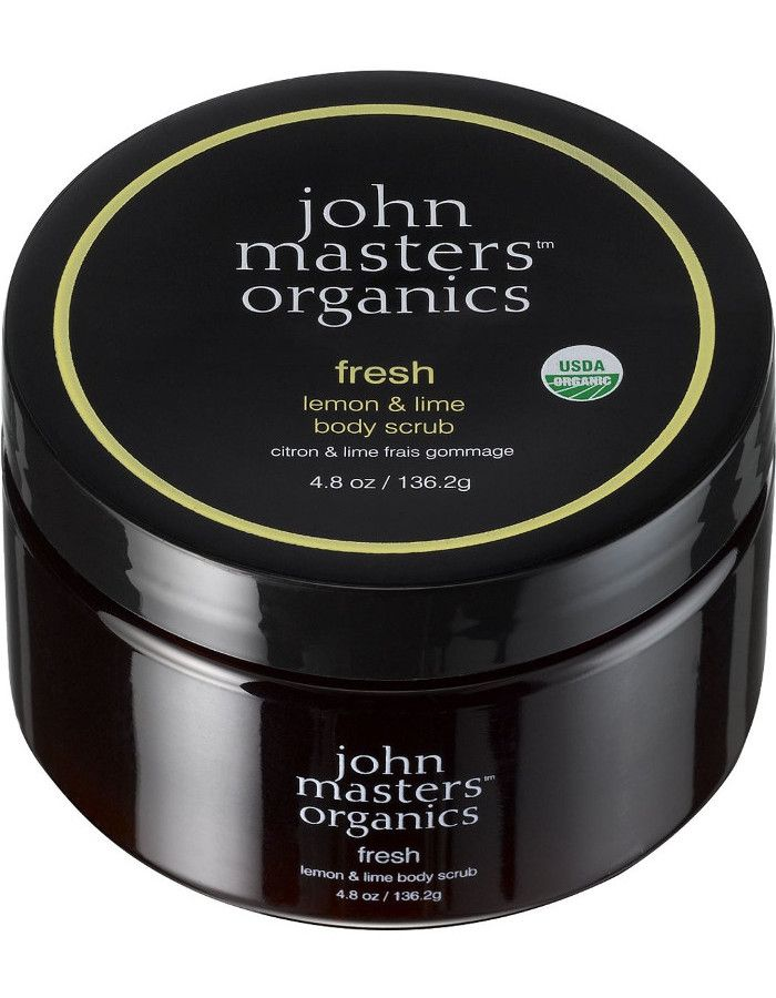 John Masters Organics Fresh Lemon & Lime Body Scrub 136gr