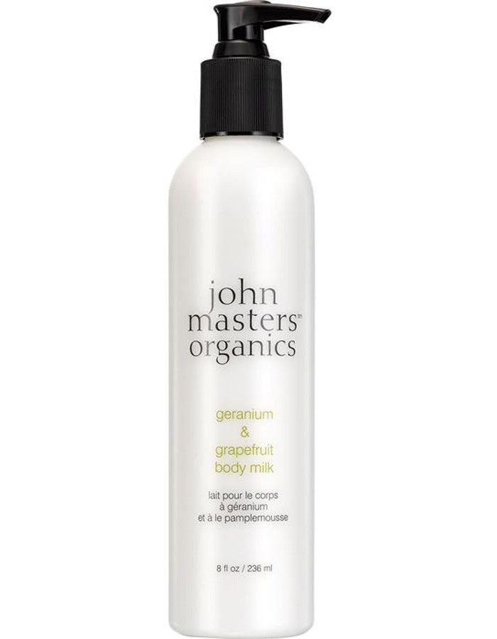 John Masters Organics Geranium & Grapefruit Body Milk 236ml