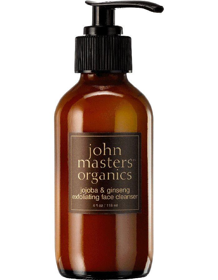 John Masters Organics Jojoba & Ginseng Exfoliating Face Cleanser 118ml