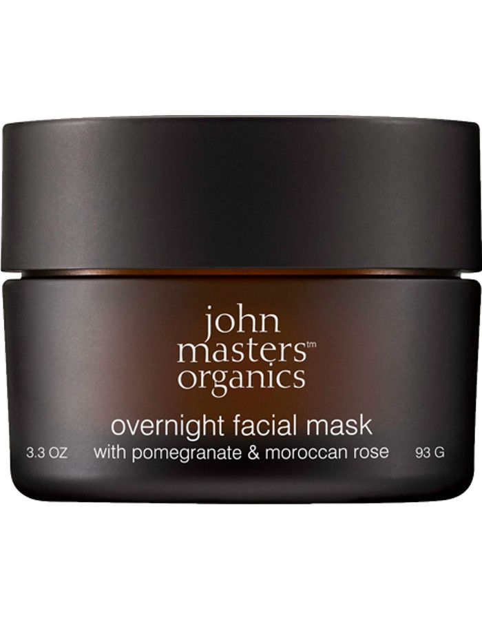 John Masters Organics Overnight Facial Mask Pomegranate & Moroccan Rose 93gr
